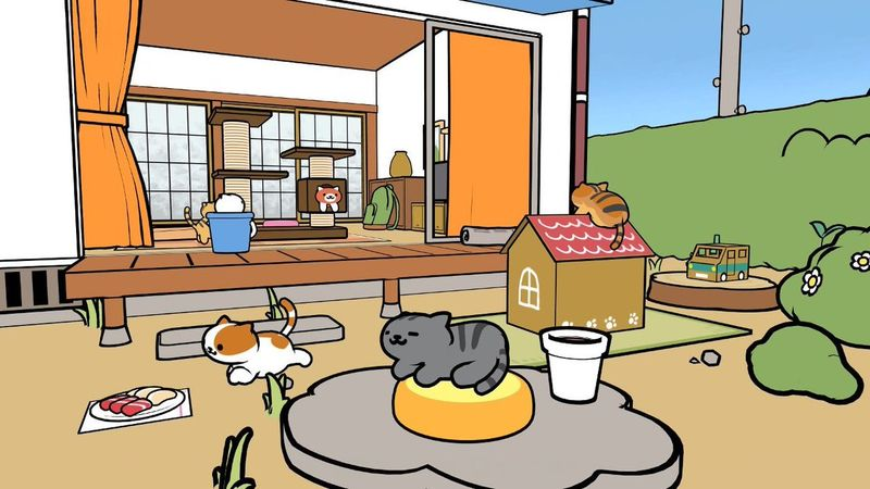 Cat-Collecting VR Games