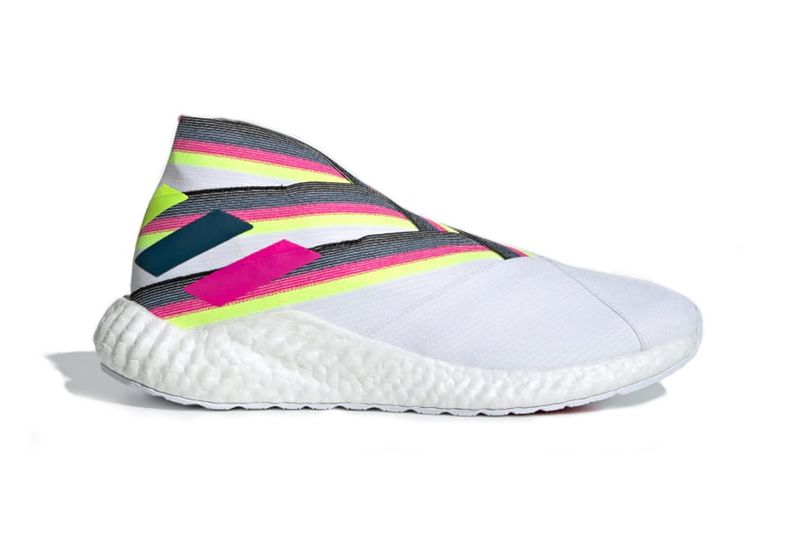 Sock-Like Vibrant Sneakers - adidas Unveils a New Nemeziz 19+ Model in Bright Neon Colors (TrendHunter.com)