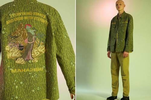 Camo-Blending Fall Fashion