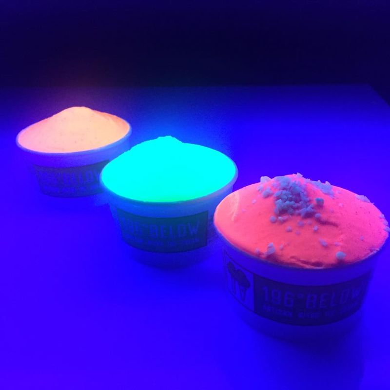 Artisan Fluorescent Ice Cream