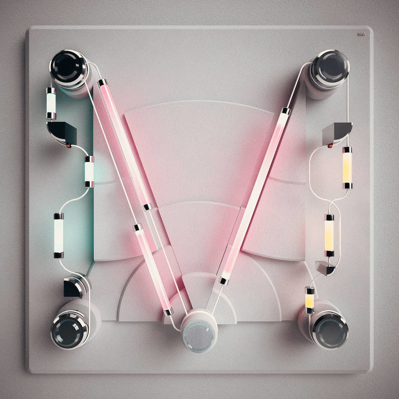 Typographic Neon Compositions