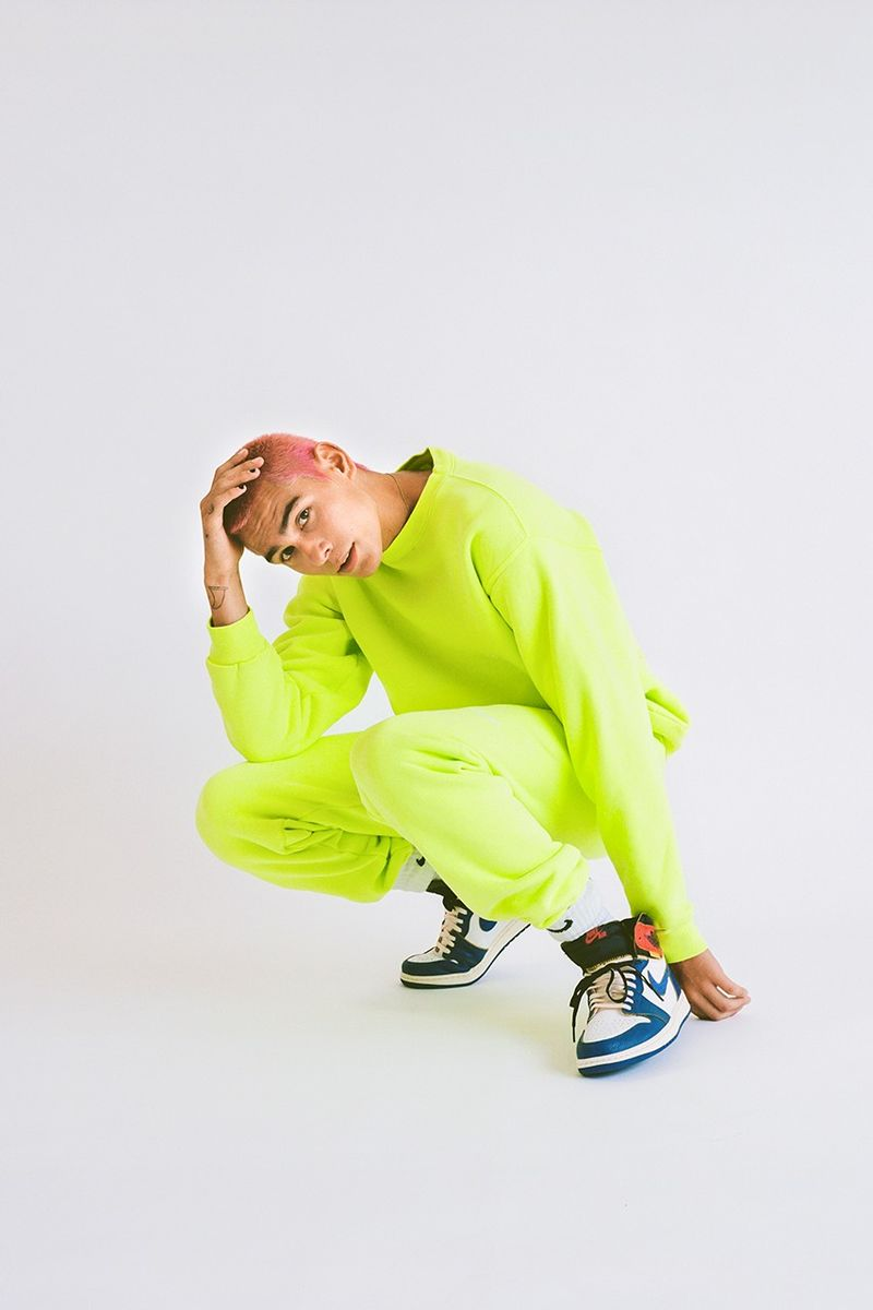Neon Tie-Dye Fashion Capsules
