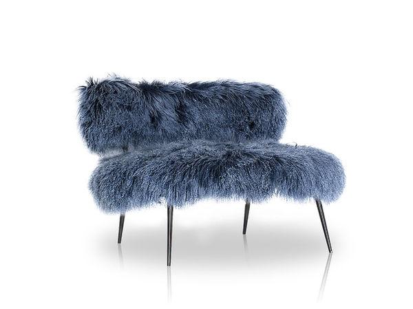 Mongolian Sheep Fur Seating