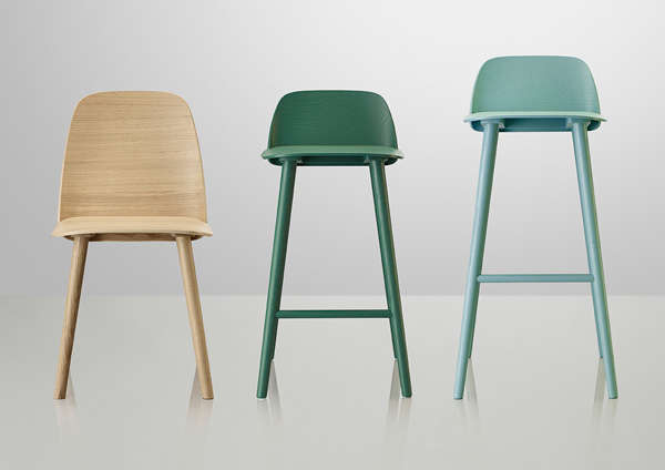 Scandinavian Inspired Seating Nerd Chair Collection