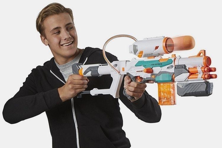 Triple-Ammunition Dart Guns