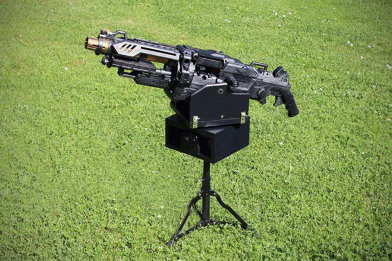 Foam Bullet Machine Guns