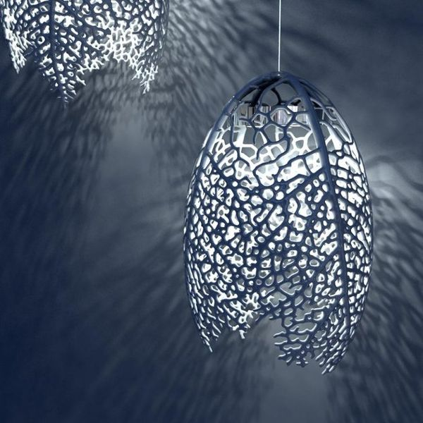 Exquisite Fibrous Lamps