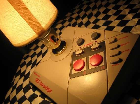 Retro Gamer Lighting