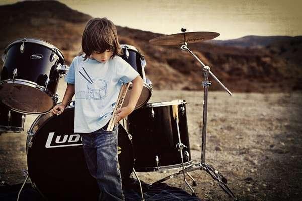 Kiddie Eco Rocker Tees