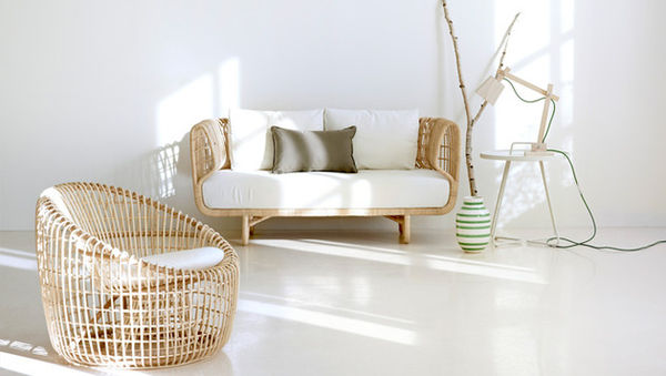Refreshingly Modern Rattan Furniture : Nest Collection By