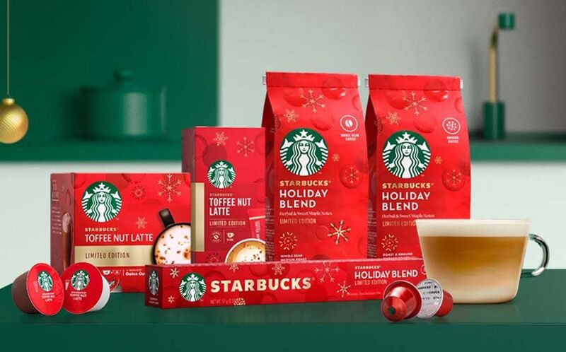 At-Home Holiday Coffee Products