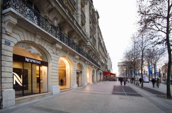 Chic Caf 195 169 Nestl 195 169 S Nespresso Boutique In Paris