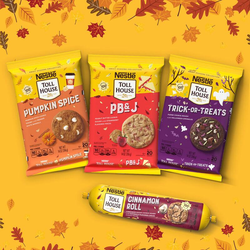 Indulgent Autumnal Cookie Doughs