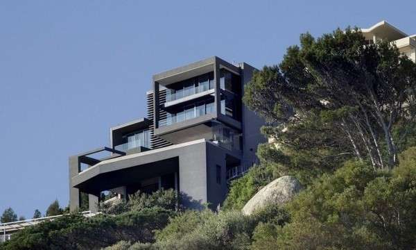 Charcoal Cliffside Abodes