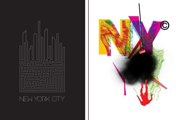 City-Themed Typography
