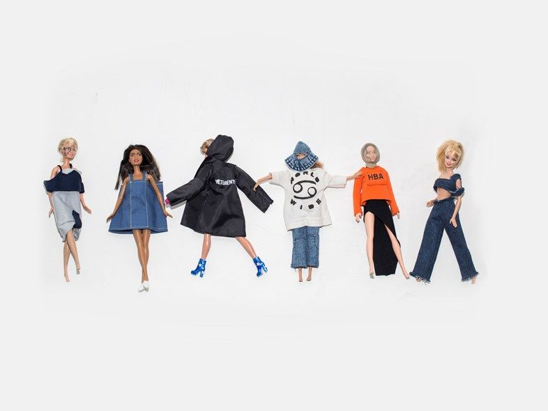 Gender-Blurring Barbie Dolls