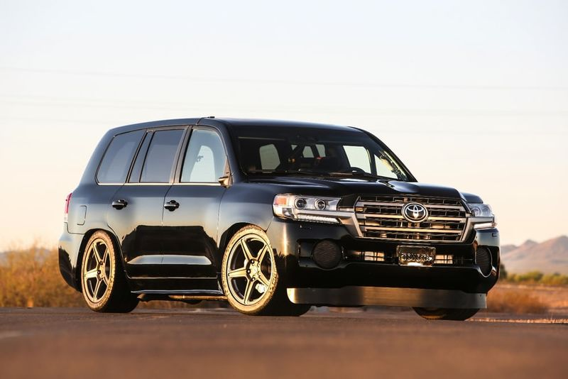 Dual-Turbocharged SUVs