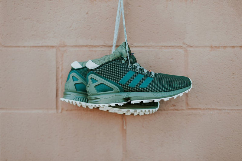 Emerald Padded Sneakers