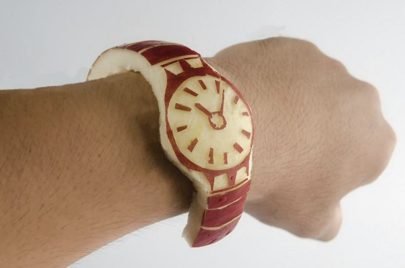 Edible Parody Smartwatches