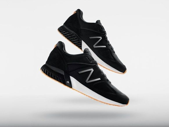 Durable 3D-Printed Sneakers - New Balance 3D-Printed Shoes Focus on Durability (TrendHunter.com)