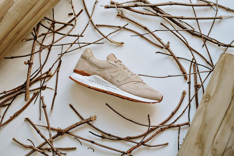 Neutral-Toned Sneakers