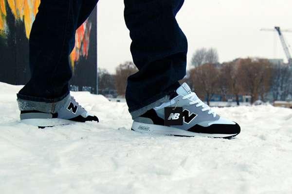 premium selection d5a10 be86a Cold War-Inspired Kicks: The New Balance 'Berlin Wall ...
