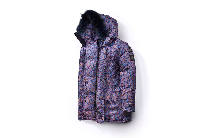 Paisley-Printed Down Jackets