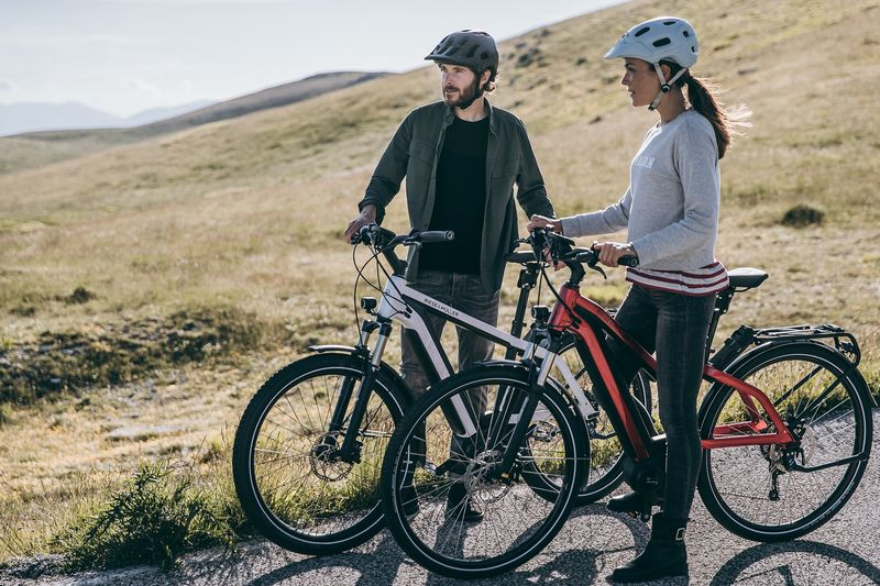 Fully Integrated E-Bikes