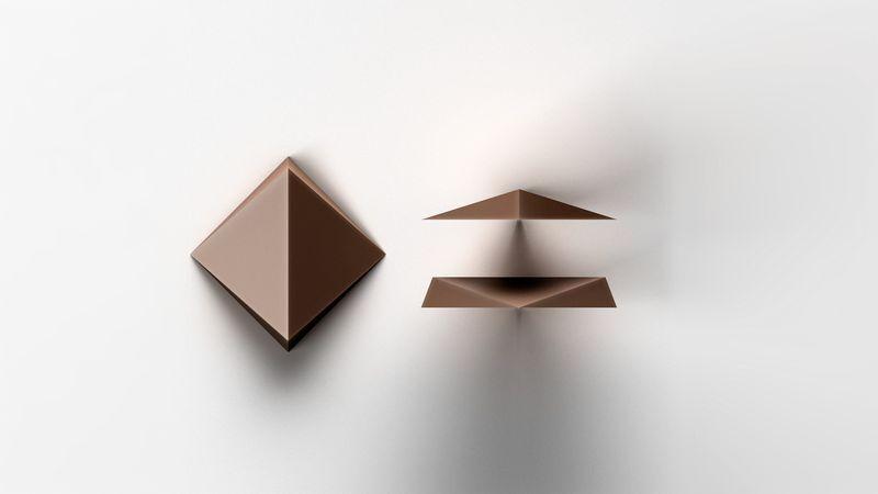Industrial Designer Baking Chocolates