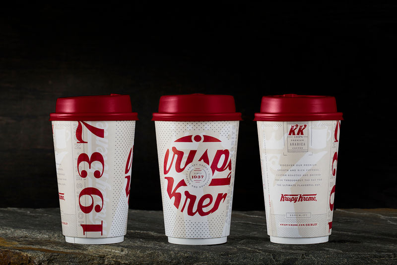 Rebranded Retro Coffee Cups