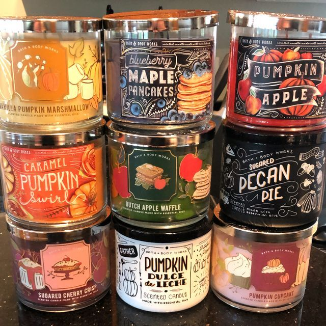 Bakery-Inspired Fall Candles
