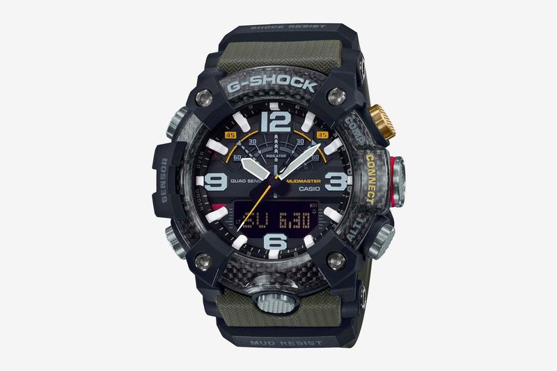 Carbon Fiber Watches - The New G-SHOCK Mudmaster Features Tech Integration (TrendHunter.com)