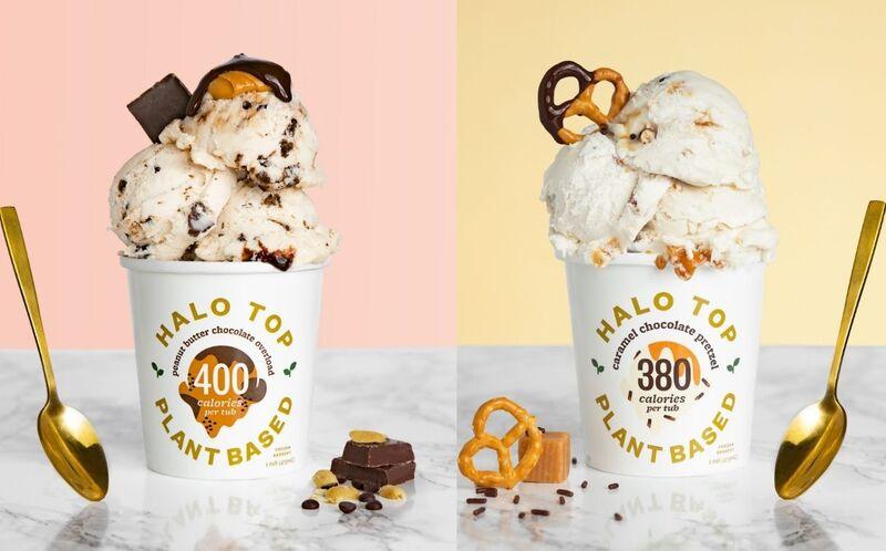 Reformulated Vegan Ice Creams