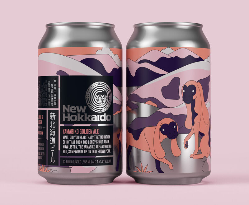 Colorful Storytelling Beer Graphics