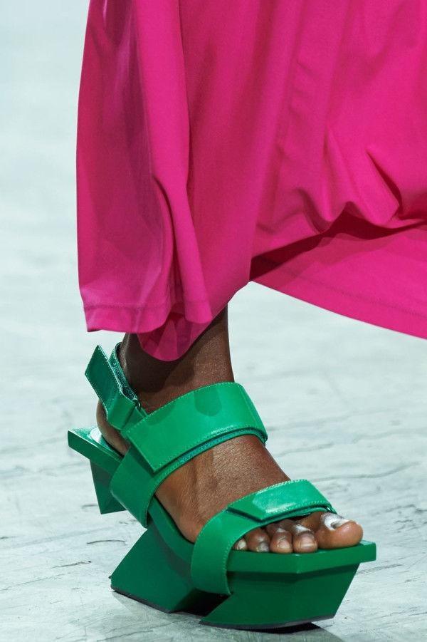 Playful Platform Sandals