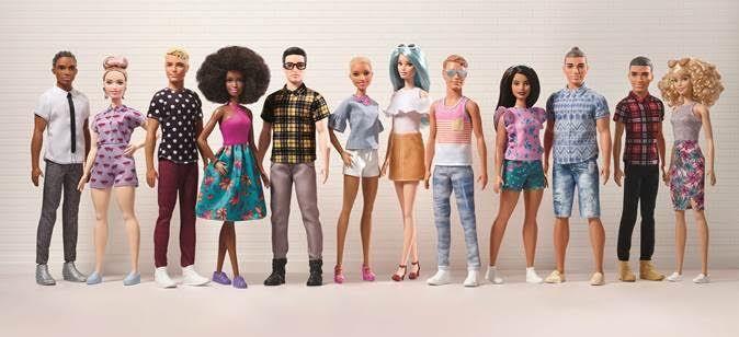 Diverse Male Dolls