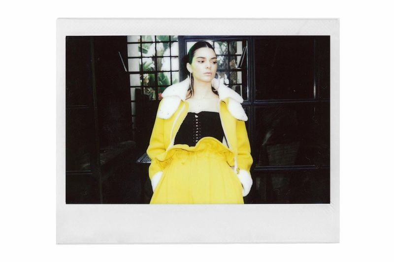 Celebrity Sister Polaroid Editorials