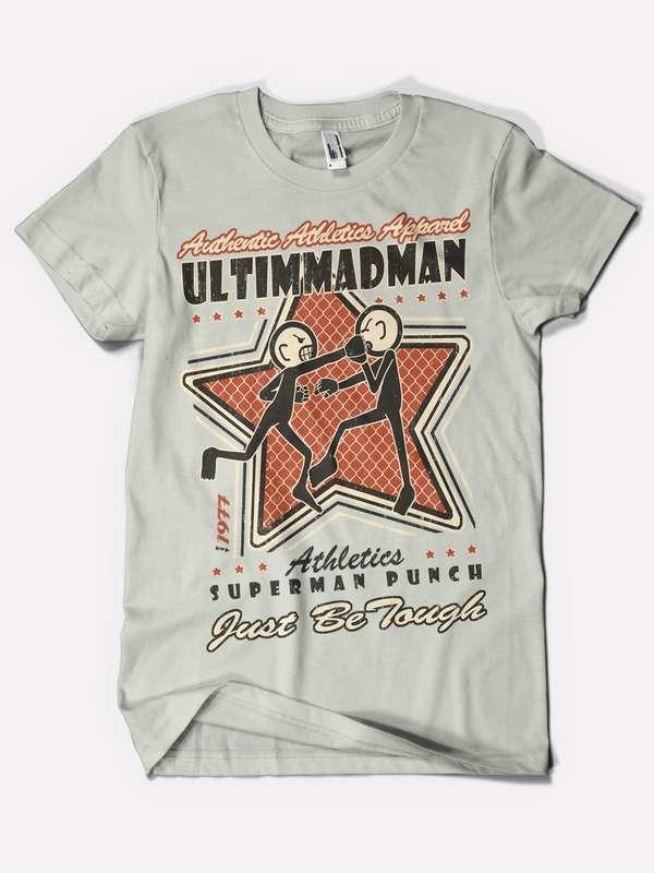 Aggressive Stickman Shirts