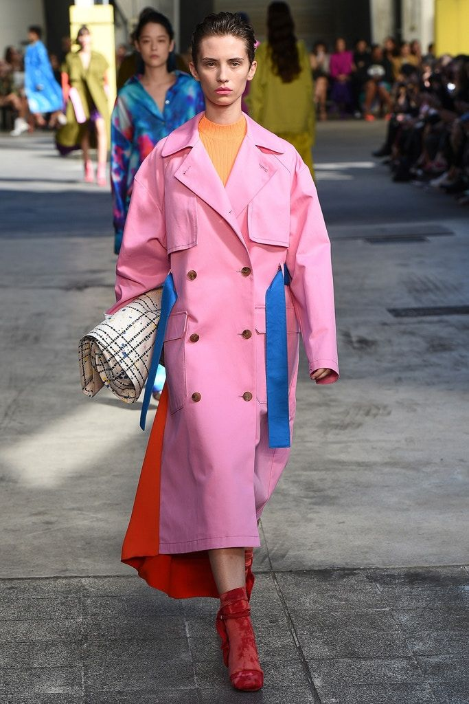 Color-Saturated Runway Shows