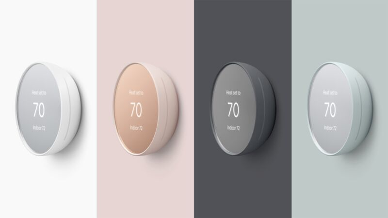 Smart Energy-Saving Thermostats