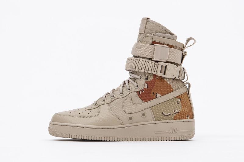 Desert-Inspired Camouflage Sneakers