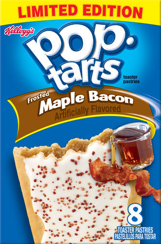 Maple Bacon Toaster Pastries