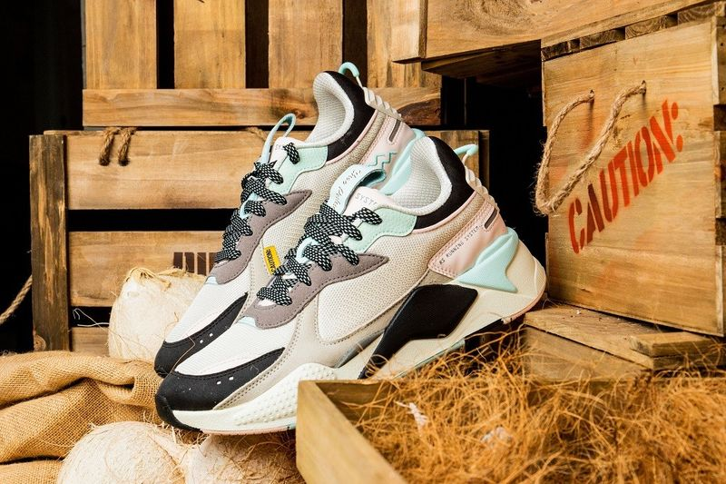 Pastel-Accented Footwear Collaborations