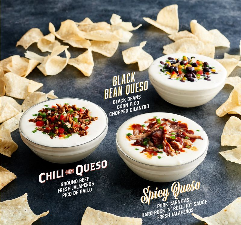 Flavorful Queso Menus