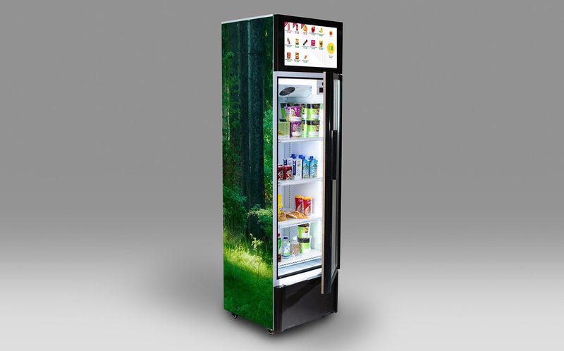 Smartphone Payment Vending Machines