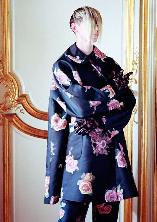 Geisha-Inspired Menswear