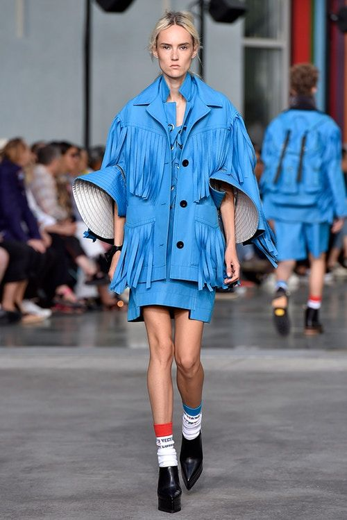 Statement Cut-and-Sew Fashion
