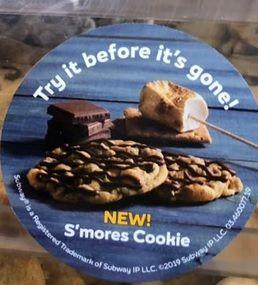 Seasonal S'mores Cookies
