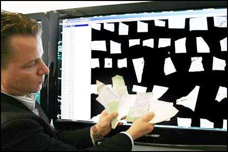 New Software Restores Shredded Documents