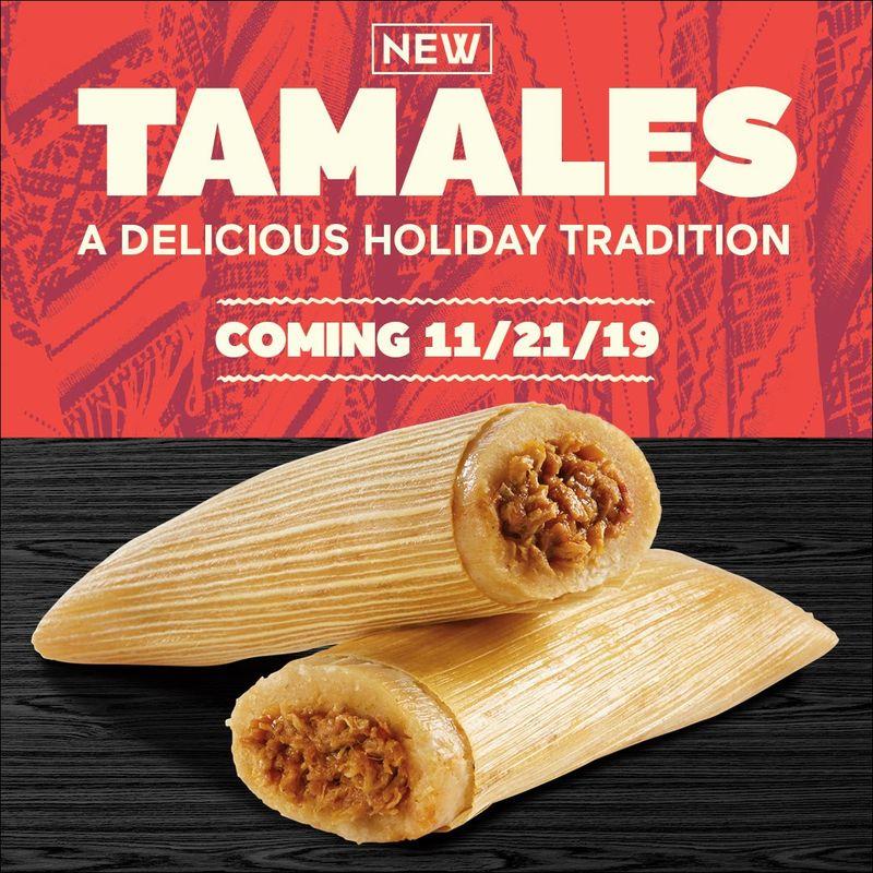 Fast Food Tamale Menus